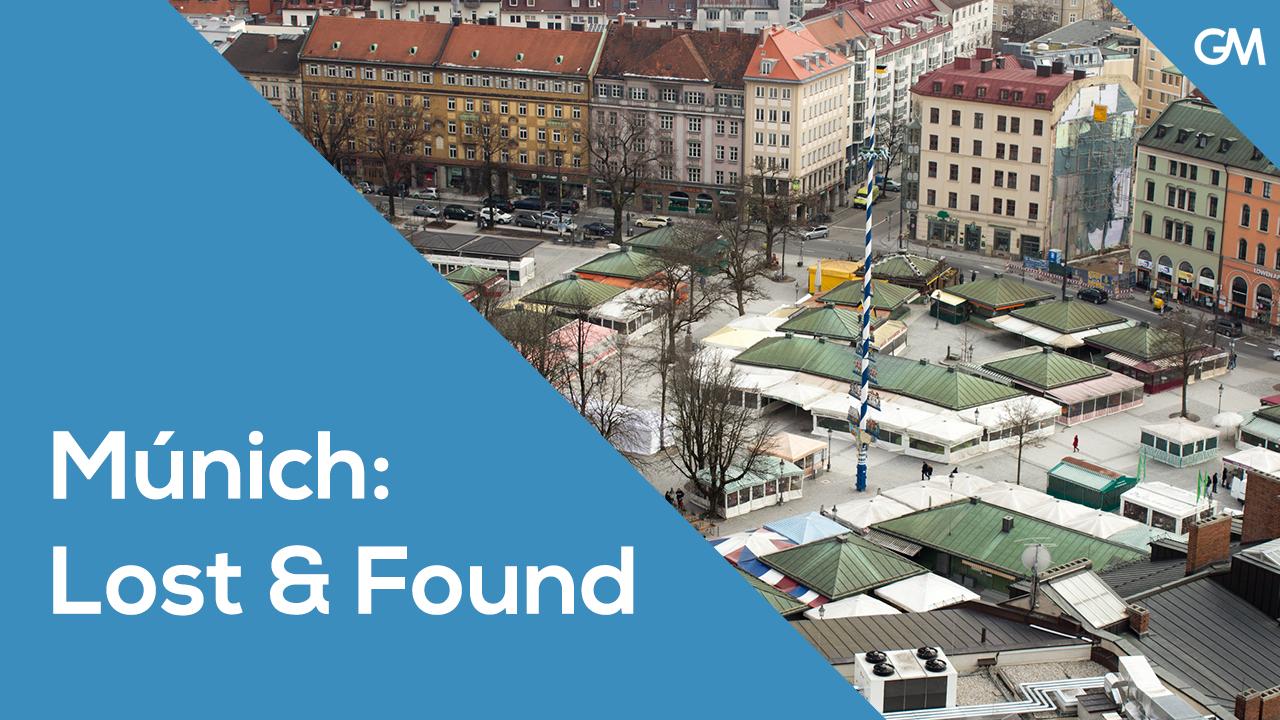 Lost & Found: Perder la cartera en Múnich