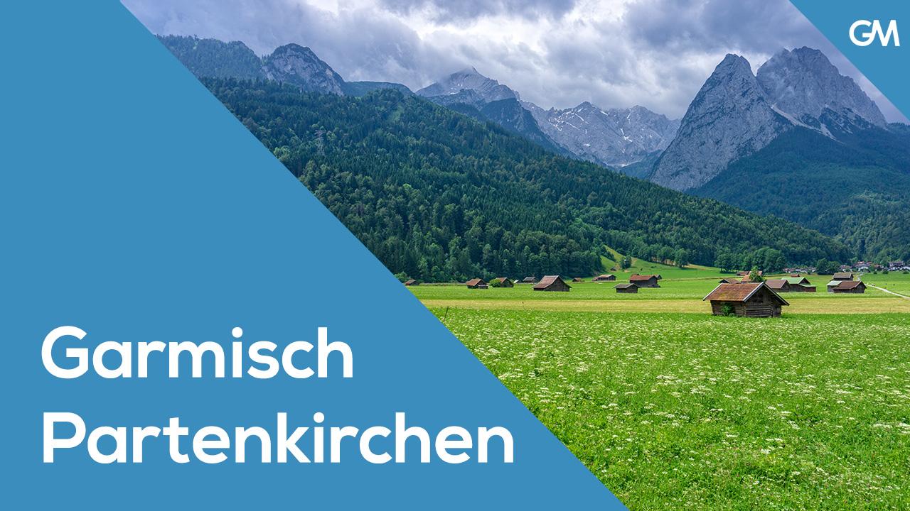 Ruta en bicicleta por Garmisch