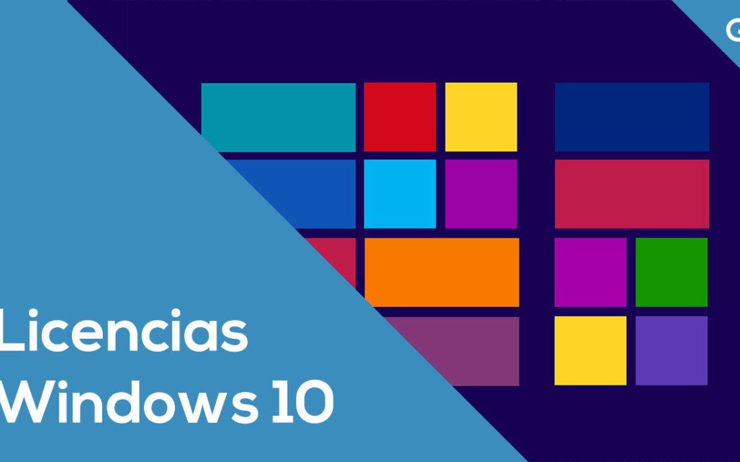 Licencias de Windows